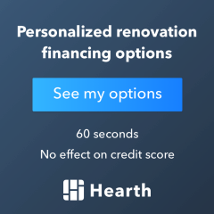 Hearth Home Improvement Financing Logo banner