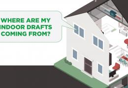 home air leaks energy smart infographic header