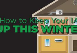 how to keep up with your iaq this winter