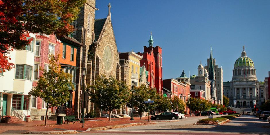 Harrisburg, PA main street